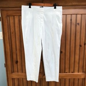 Women's J.Crew city fit cropped pants size 10